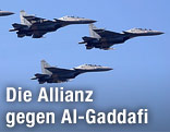 Französische Mirage-2000 Jets