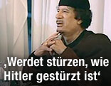 Machthaber Al-Gaddafi