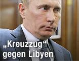 Russische Regierungschef Wladimir Putin