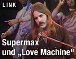 """""""Supermax"""" Kurt Hauenstein am Keyboard"""