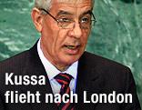 Libyens Außenminister Mussa Kussa