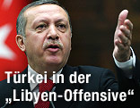 Türkeis Premierminister Recep Tayyip Erdogan
