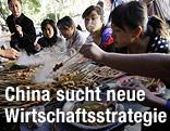 Essende Chinesen