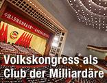 """Versammlung in der  """"Großen Halle des Volkes"""""""