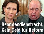 Frauenministerin Gabriele Heinisch-Hosek und GÖD-Vorsitzender Fritz Neugebauer