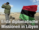 Libysche Flagge