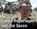 Comiczeichner Joe Sacco
