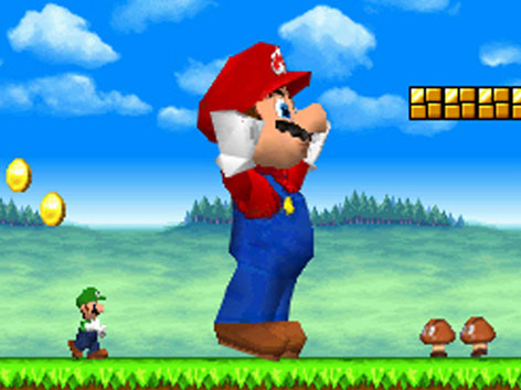 "Szene aus ""Super Mario"""
