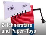 Paper Toy Skullboy
