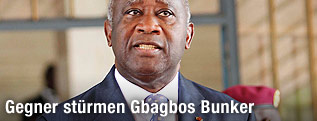 Abgewählter Präsident Laurent Gbagbo