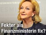 Innenministerin Maria Fekter (ÖVP)