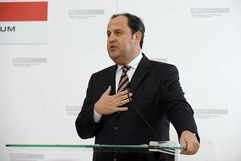Der zurückgetretene Finanzminister und Vizekanzler Josef Pröll