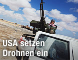 Rebellen in Libyen