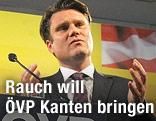 neuer Generalsekretär der ÖVP, Johannes Rauch