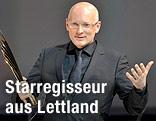 Regisseur Alvis Hermanis mit Nestroy-Preis