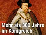 Gemälde zeigt Jakob I.