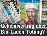 "Zeitung ""Pakistan Today"" mit Bin-Landen-Cover"