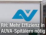 """Schild """"UKH Graz"""""""