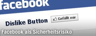"""Facebookseite zeigt einen """"Dislike""""-Button"""