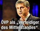 ÖVP-Obmann und Vizekanzler Michael Spindelegger