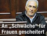 Dominique Strauss-Kahn auf der Anklagebank