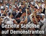 Demonstration in Talokan