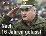 Ehemaliger bosnisch-serbischer Militärchefs Ratko Mladic