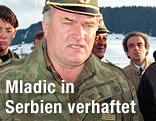 Ratko Mladic in Uniform