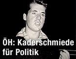 Ein junger Heinz Fischer als Student