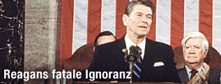 Ehemaliger US-Präsident Ronald Reagan