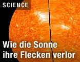 Sonnenbild der NASA