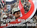 Demonstration auf Tahrir-Platz