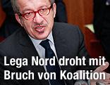 Der italienische Innenminister Roberto Maroni (Lega Nord) - italien_referendum_lega_nord_maroni_1k_a.2076509