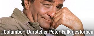 """""""Columbo""""-Darsteller Peter Falk"""