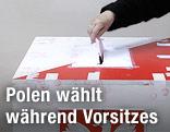 Polnische Wahlurne