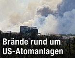Rauch über Los Alamos