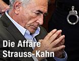 Dominique Strauss-Kahn im Gerichtssaal