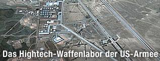 Satellitenaufnahme von Area 51