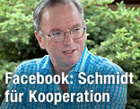 Google-CEO Eric Schmidt bei der Sun Valley Conference