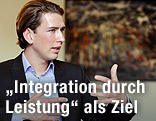 Integrations-Staatssekretär Sebastian Kurz
