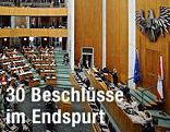 Plenarsaal im Parlament