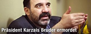 Ahmed Wali Karzai, Bruder des afghanischen Präsidenten Hamid Karzai