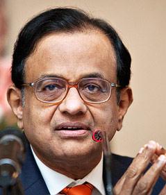 Indischer Minister Chidambaram