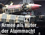 Raketenbestücktes Panzerfahrzeug
