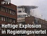 Bombenexplosion in Oslo