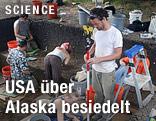 Ausgrabungen an der Debra L. Friedkin Site