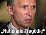 norwegischer Regierungschef Jens Stoltenberg