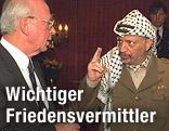 Yasser Arafat und Yitzhak Rabin