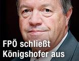 Nationalratsabgeordneter Werner Königshofer (FPÖ)