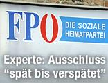 Ausschnitt aus FPÖ-Plakat
